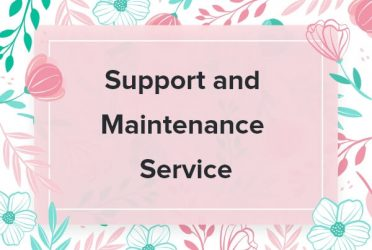 Maintenance and Support Service