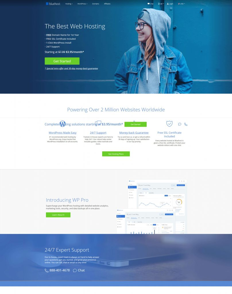 Bluehost - Best-managed-wordpress-Hosting