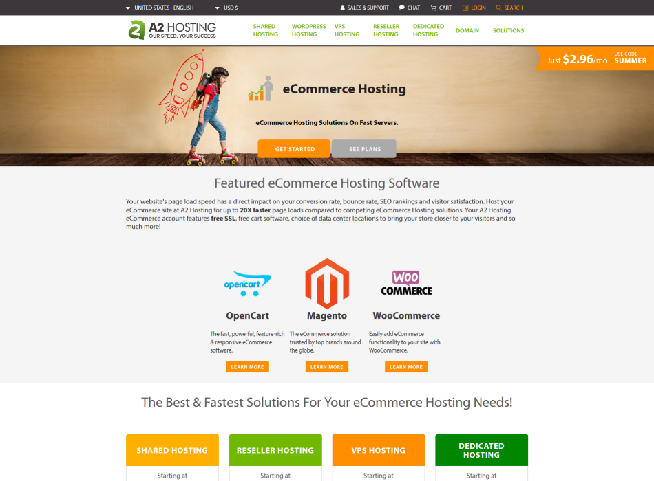 a2-fastest-BEST-eCommerce-Website-Hosting-2019