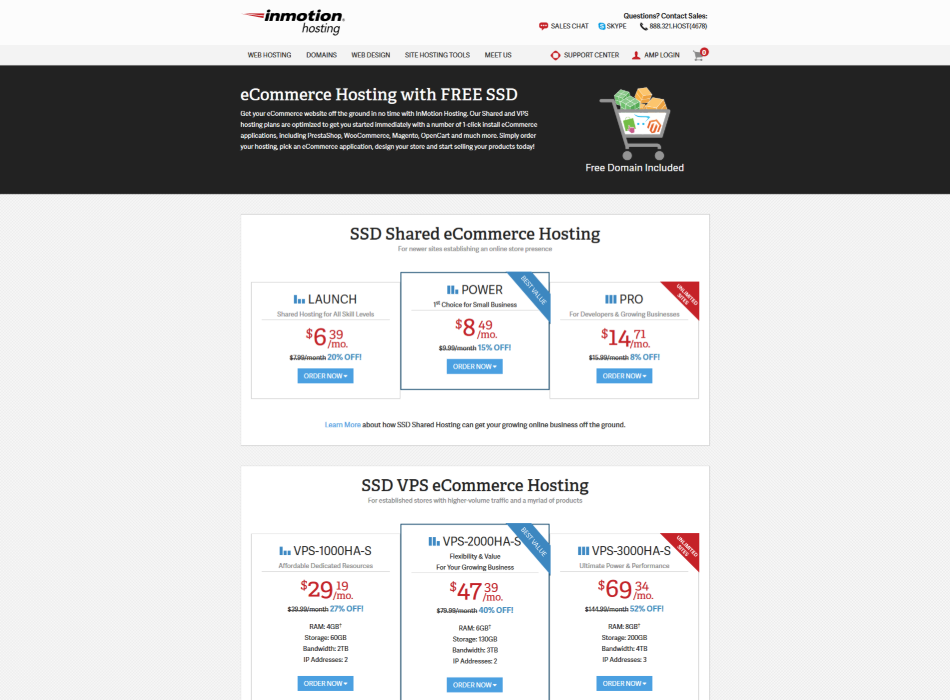 eCommerce-Hosting-with-FREE-SSD-InMotion-Hosting