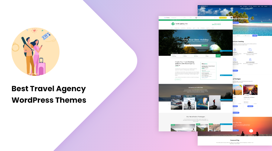 Best Travel Agency WordPress Themes