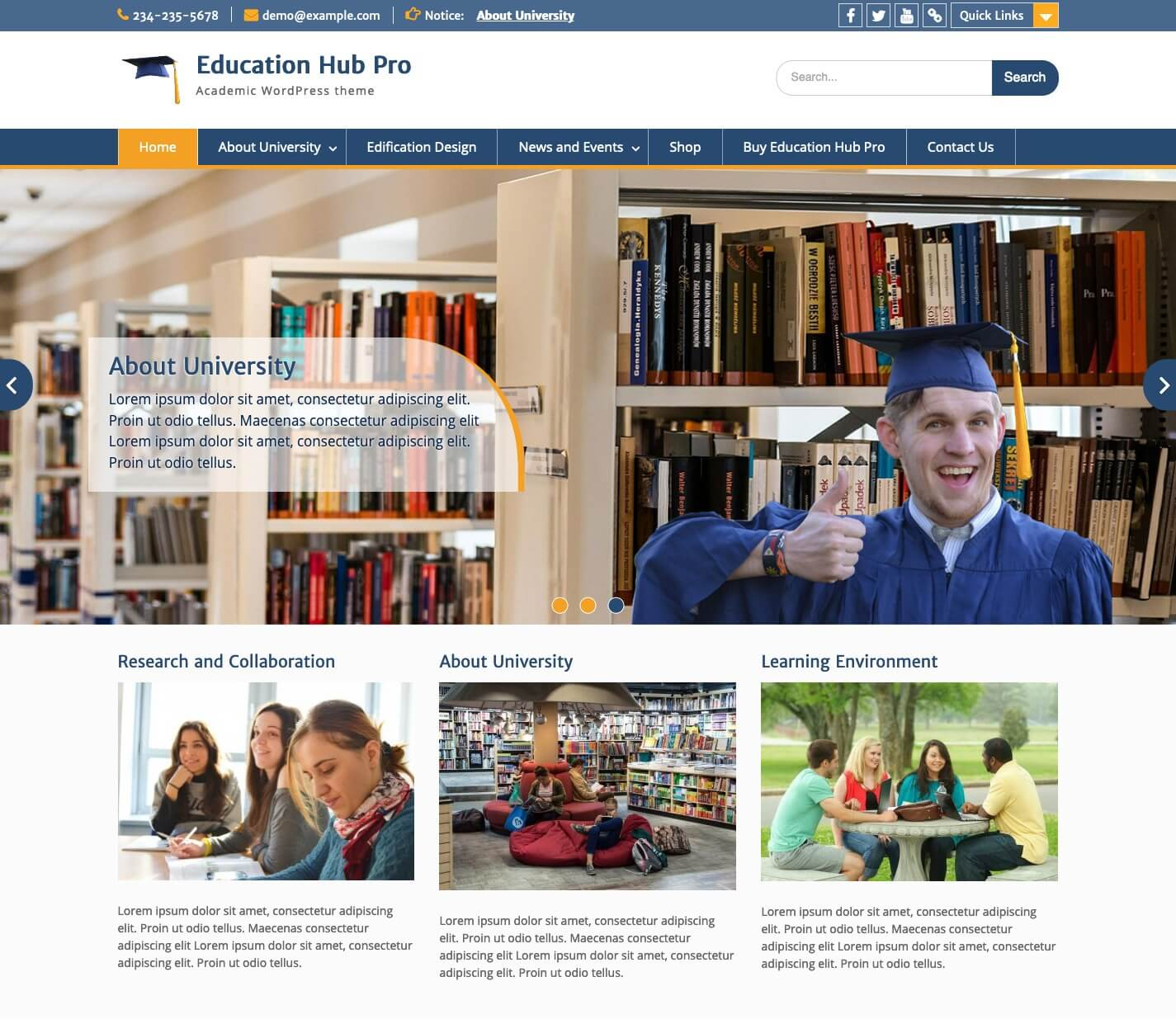 Education Hub Pro