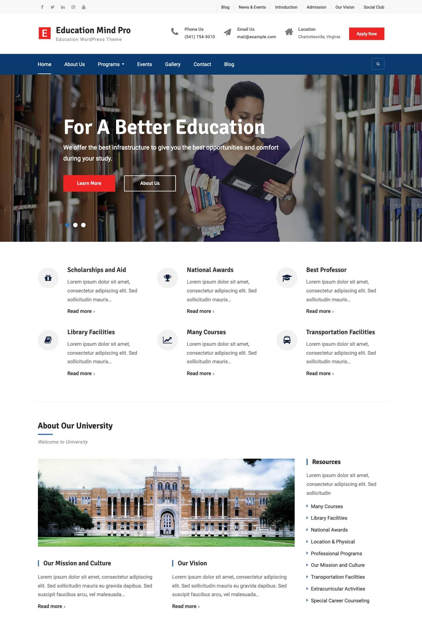 Education Mind Pro