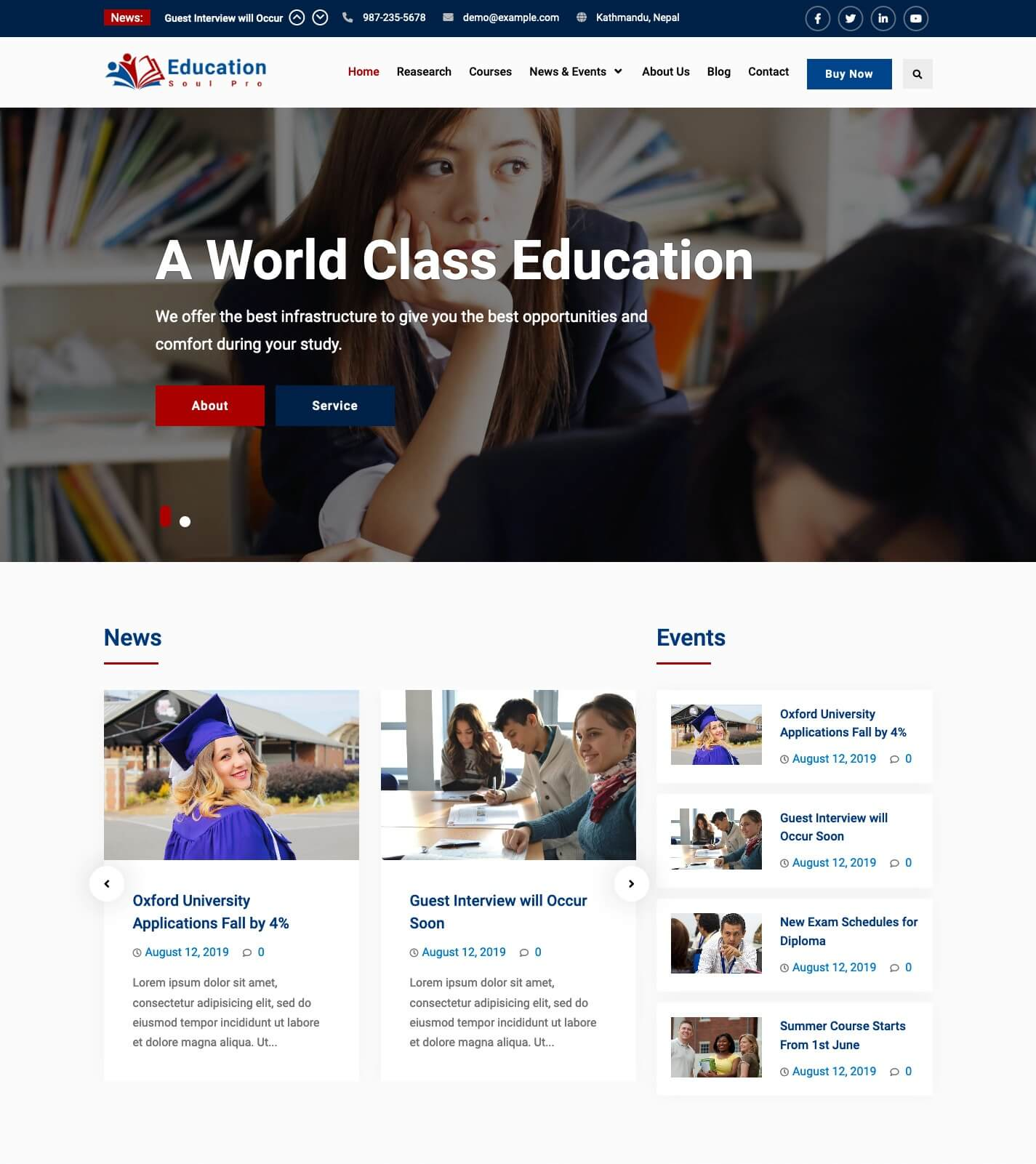 Education Soul Pro