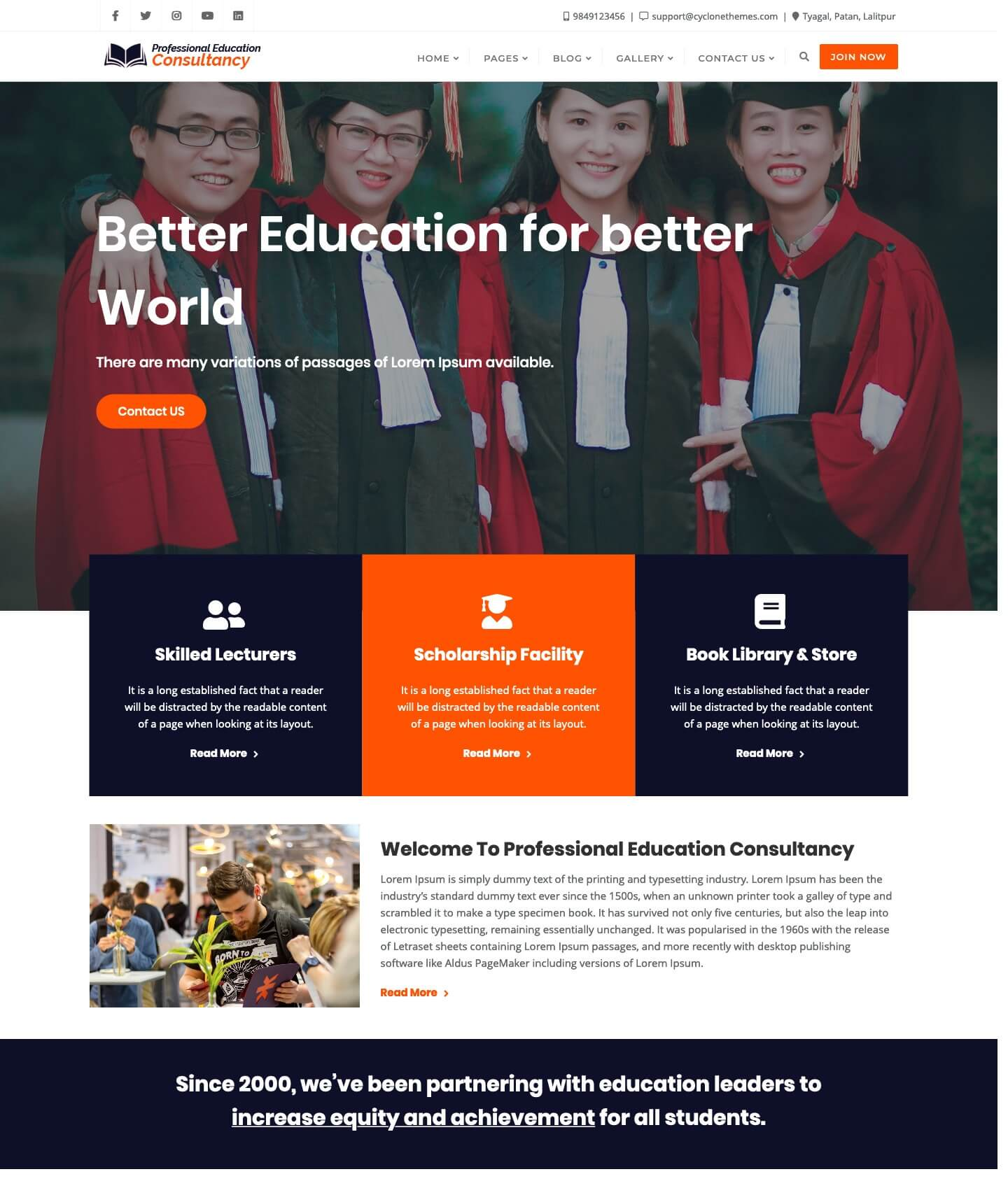 Professional Education Consultancy Lite