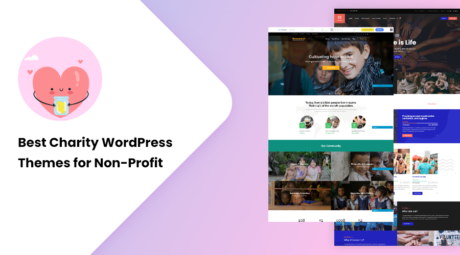 Best Charity WordPress Themes for Non-Profit
