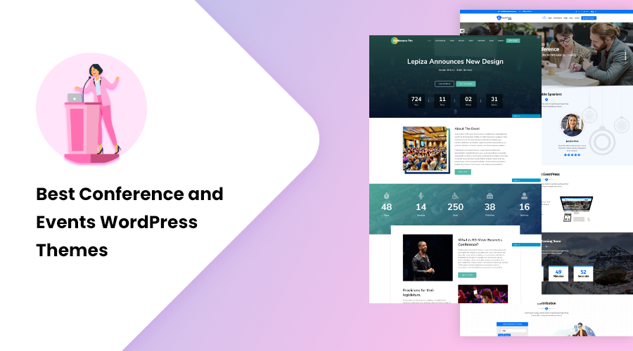 Best Conference and Events WordPress Themes