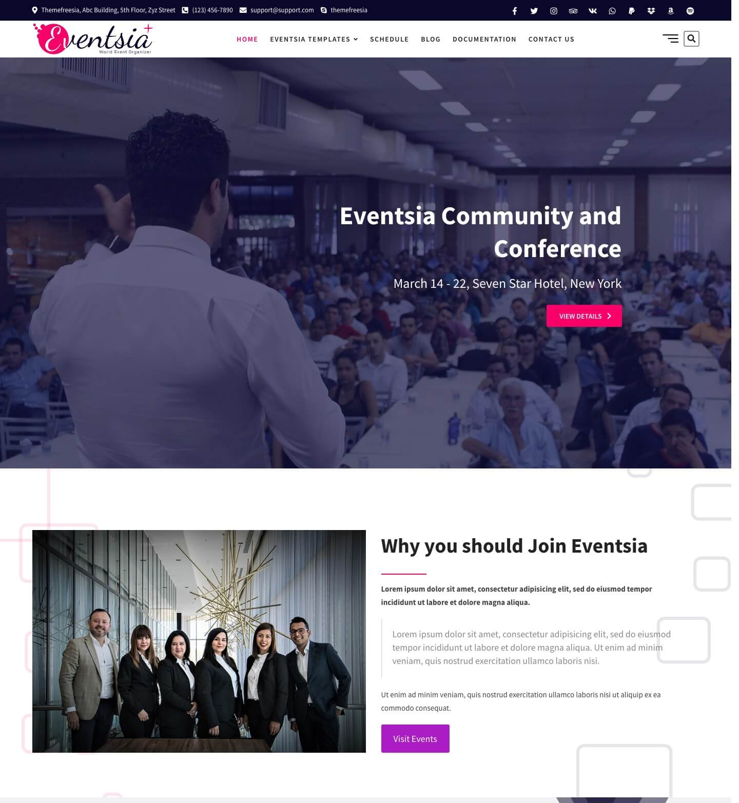 Eventsia Plus
