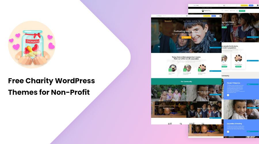 Free Charity WordPress Themes for Non-Profit