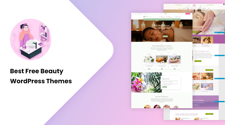 Best Free Beauty WordPress Themes