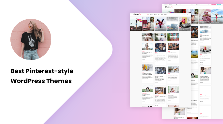 Best Pinterest-style WordPress Themes