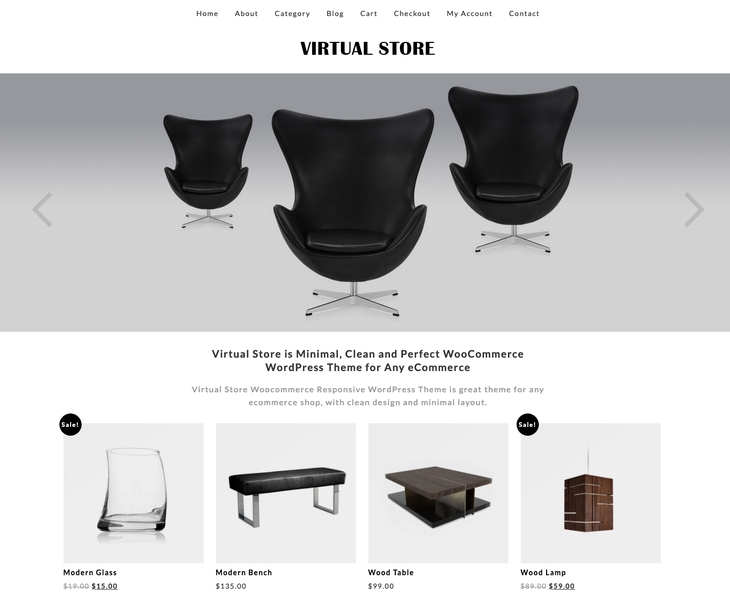 Virtual Store WooCommerce WordPress Theme