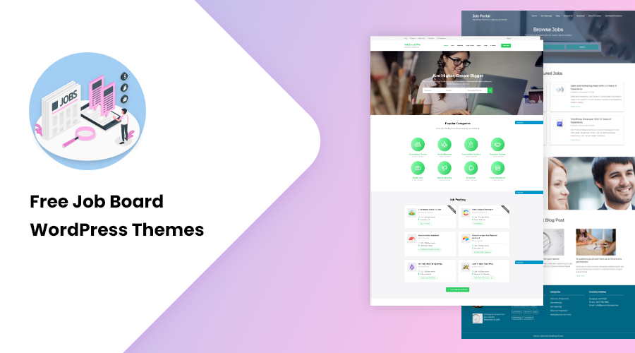 free job board wordpress theme