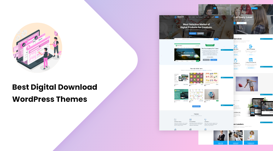 Best Digital Download WordPress themes