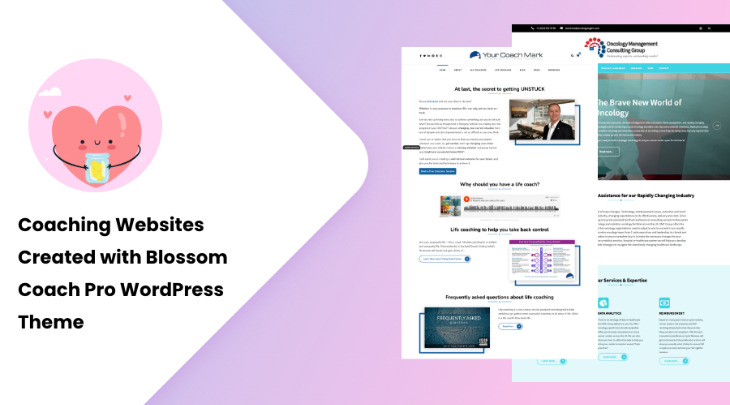 Coaching Websites Created with Blossom Coach Pro WordPress Theme
