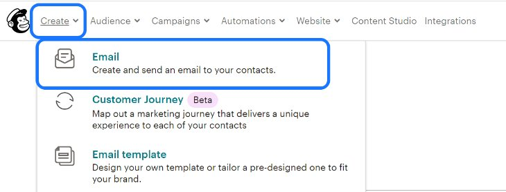 Creating an Email Marketing Campaign in MailChimp
