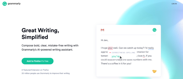 Grammarly Grammar Checker Tools for Bloggers