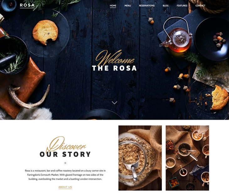 ROSA Free WordPress Theme