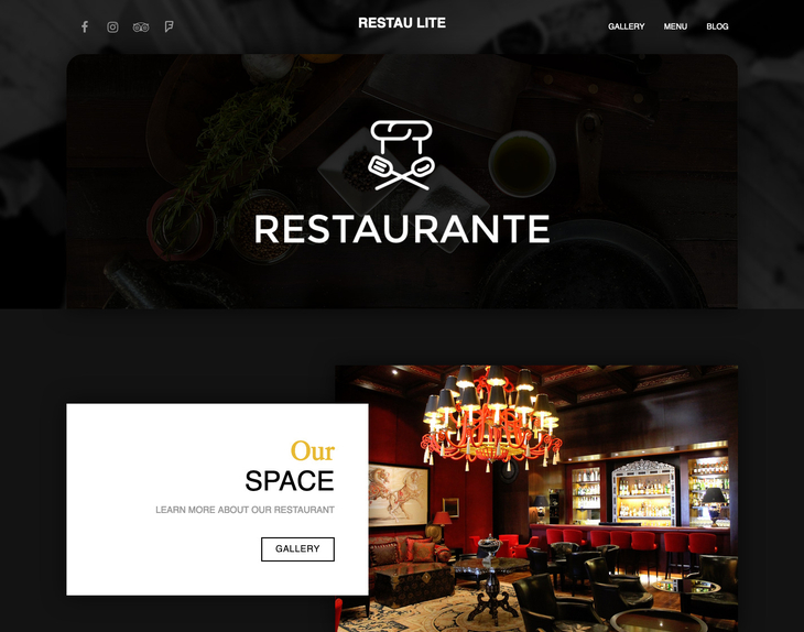 Restau Lite Free WordPress Theme
