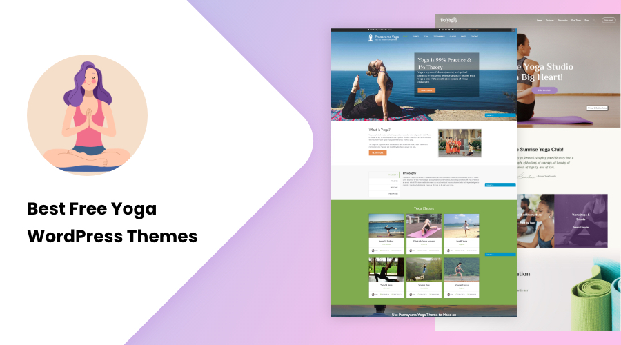 Best Free Yoga WordPress Themes