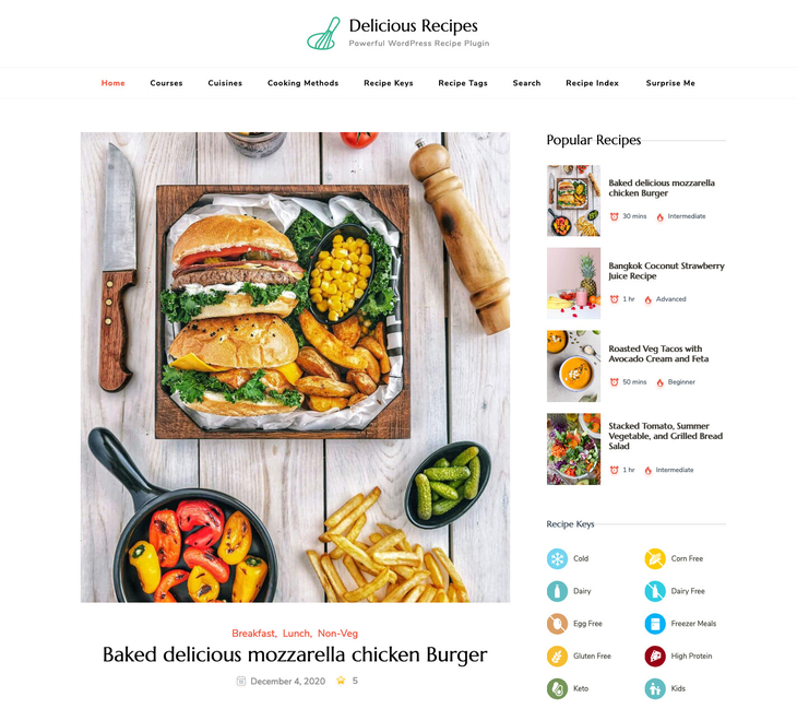 Delicious Recipes WordPress Recipe Plugin