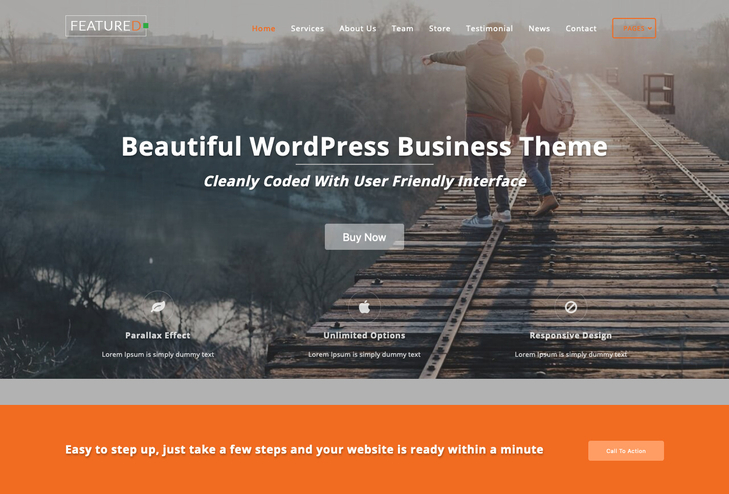 Featured WordPress Theme