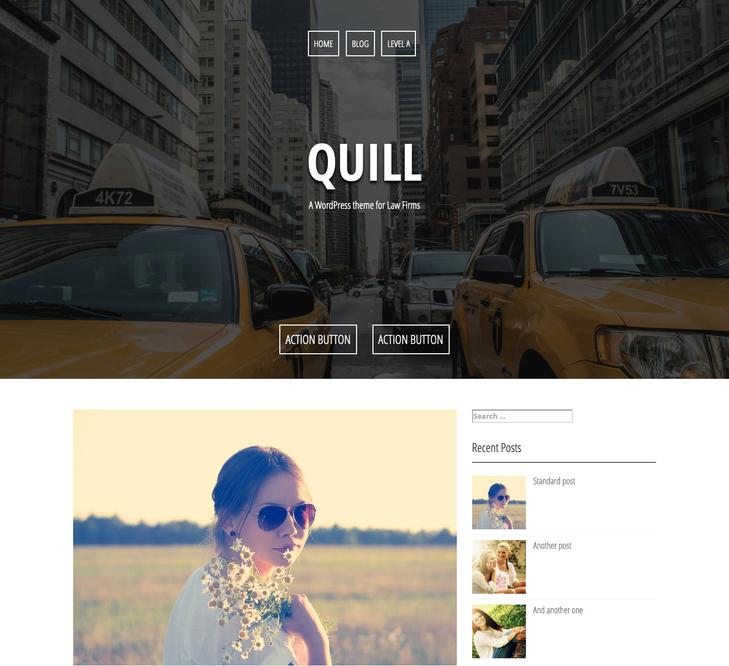 Quill WordPress Theme