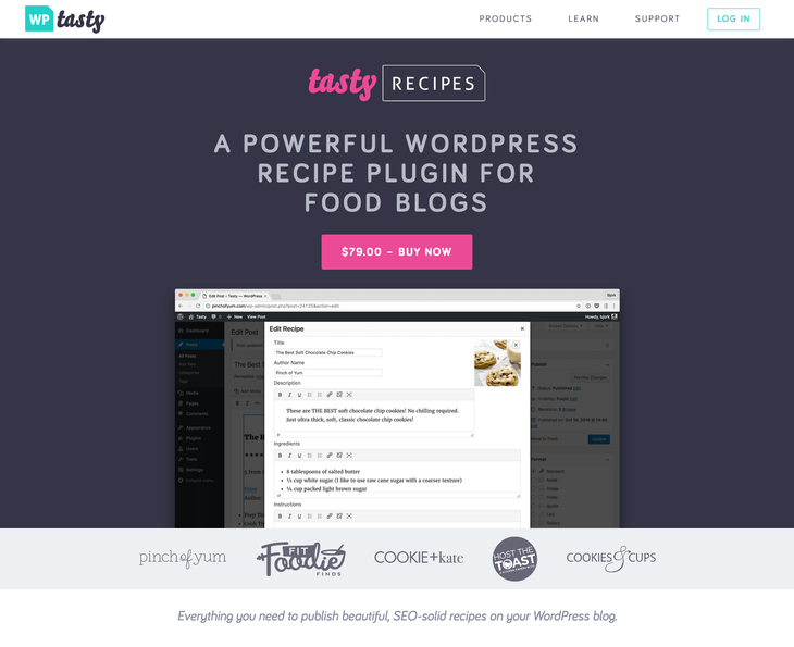 Tasty Recipes WordPress Recipe Plugin