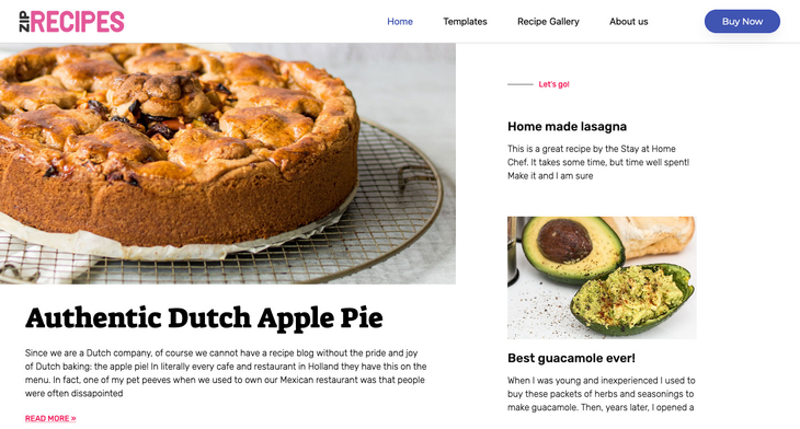 Zip Recipes WordPress Recipe Plugin