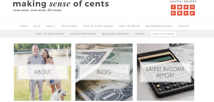 examples of the very successful bloggers in finance niche