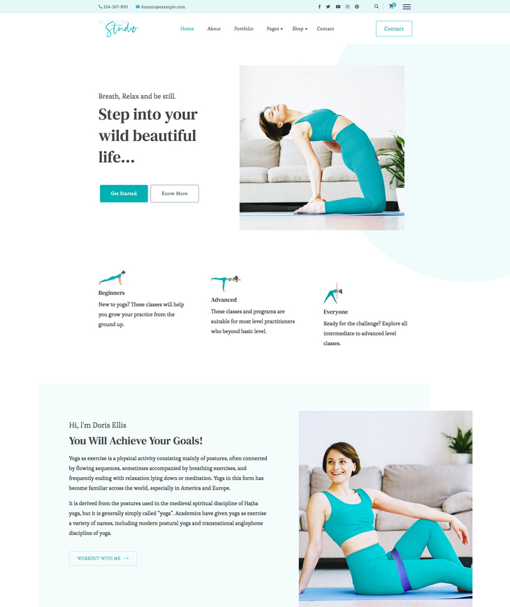Blossom Studio Free WordPress Theme