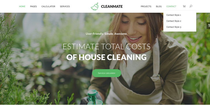 CleanMate Cleaning Service WordPress Theme