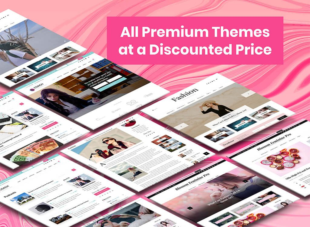 Blossom Premium Themes at discounted price