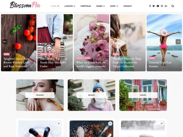 Blossom Pin Pro WordPress Theme