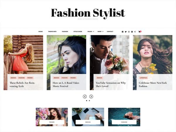 Fashion Stylist Free WordPress Theme