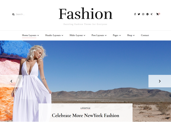 Blossom Fashion WordPress Theme