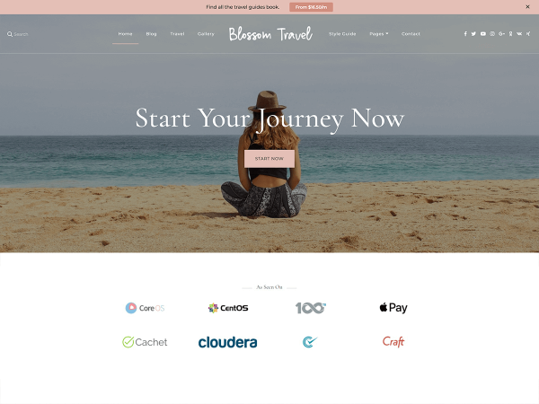 Blossom Travel WordPress Theme